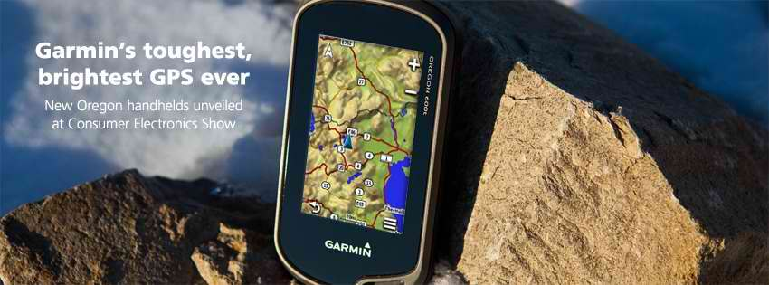 New Garmin Oregon du 600 au 650t