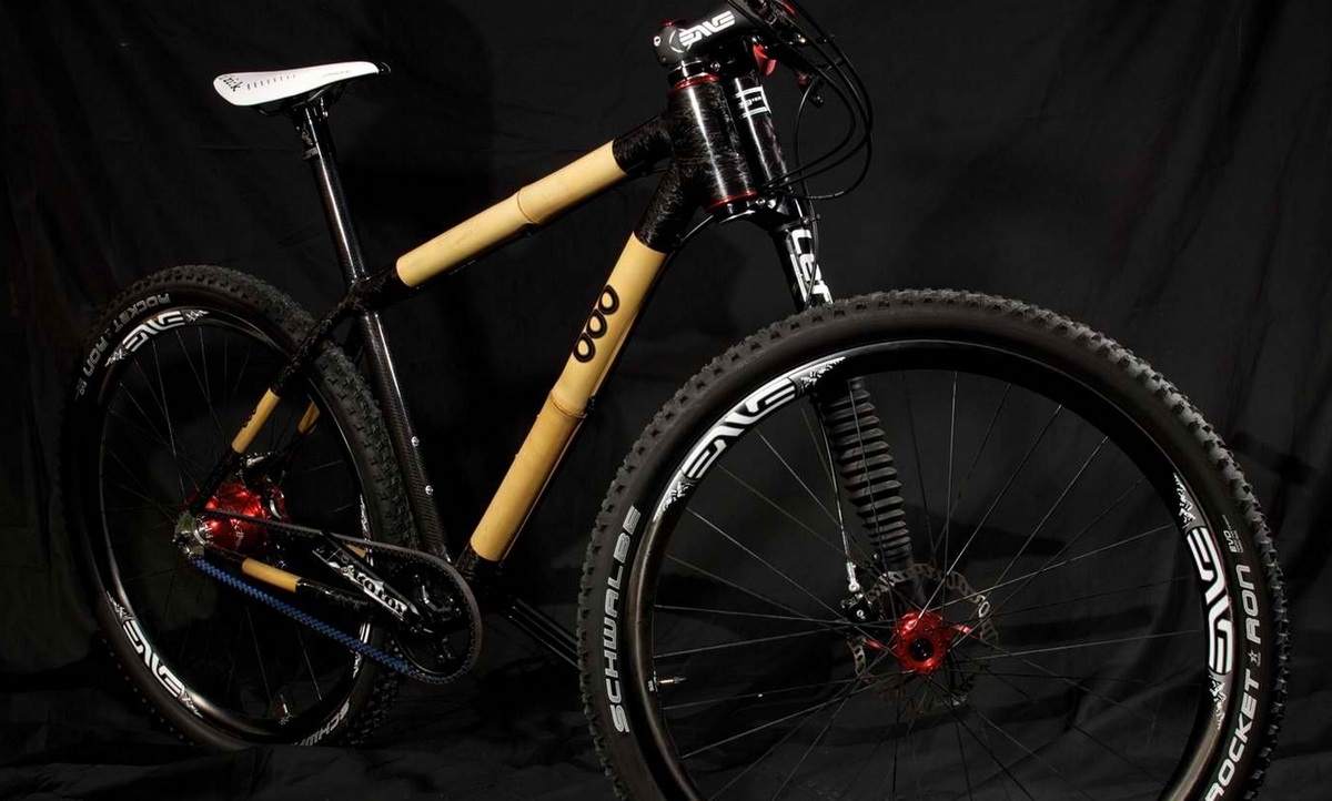 Boo Bicycles cadre bambou & carbone