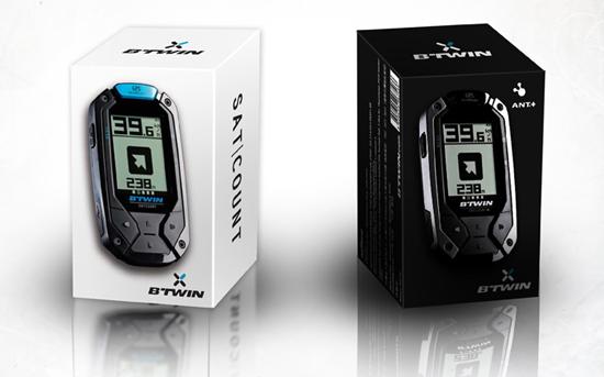 Décathlon by BT'WIN le GPS VTT SATCOUNT & SATCOUNT+