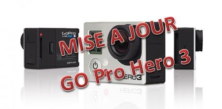 Go Pro HERO 3 – Mise à jour du Fireware