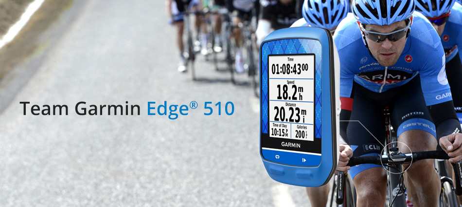 Garmin EDGE 510 TEAM GARMIN