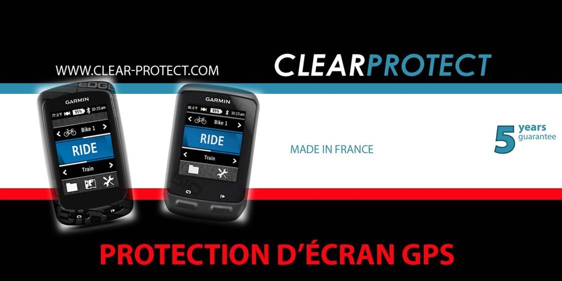 Clear Protect au service des EDGE 810-EDGE 510
