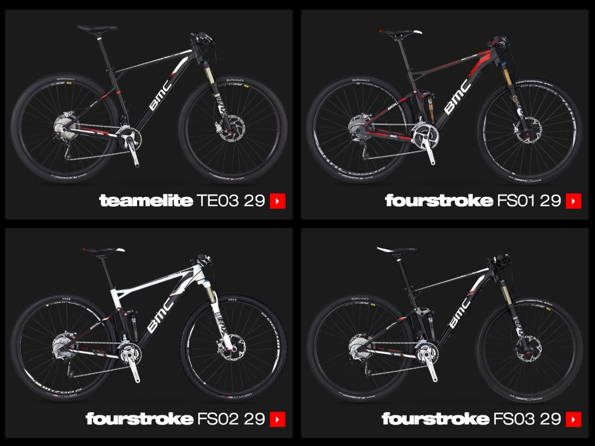 BMC Racing Fourstroke FS en version 2014
