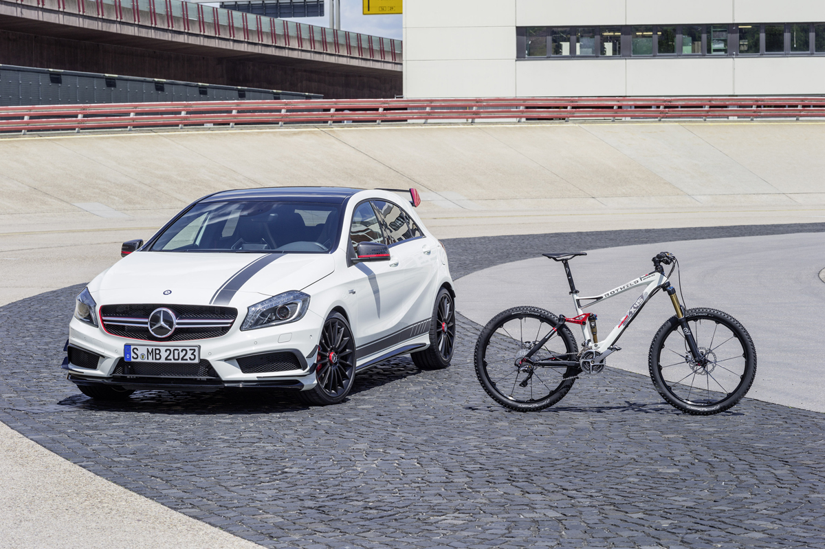 Mercedes AMG – Rotwild fait du VTT Haut de gamme