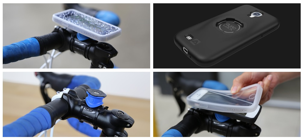 Support Vélo QuadLock deluxe pour le Samsung Galaxy S4