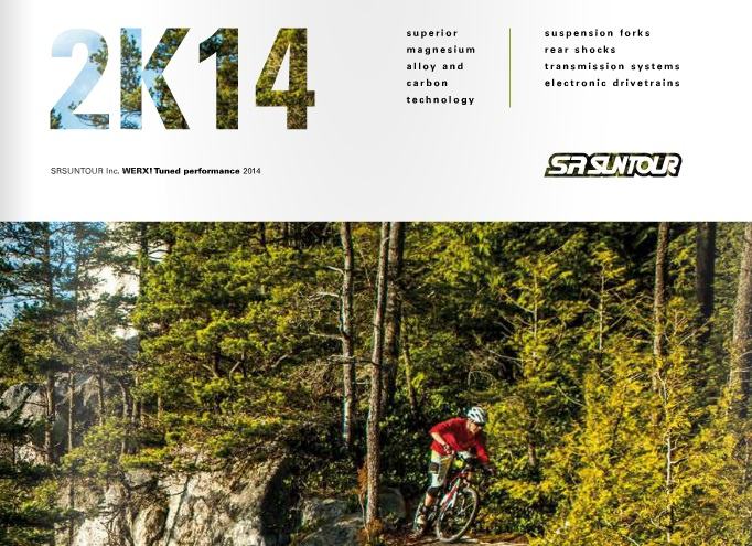 Catalogue SRSuntour 2014.