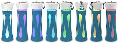 Bouteille d'eau Intelligente