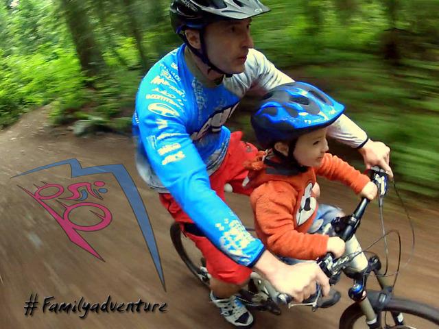 Mac Ride Partageons en famille notre patient du VTT