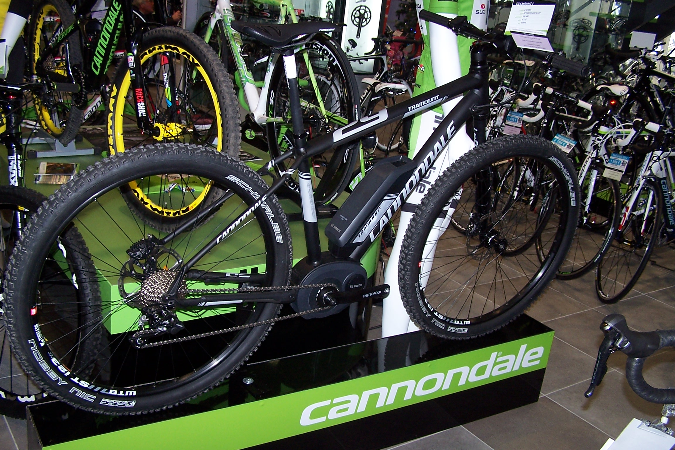 Cannondale Tramount 29er 1