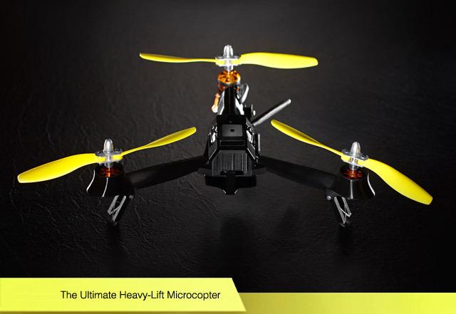 Drone de poche pour filmer vos randonnées à VTT