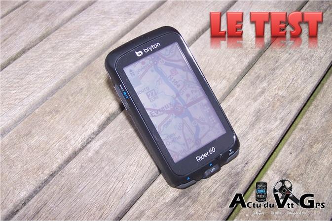 GPS BRYTON RIDER 60 – Le TEST