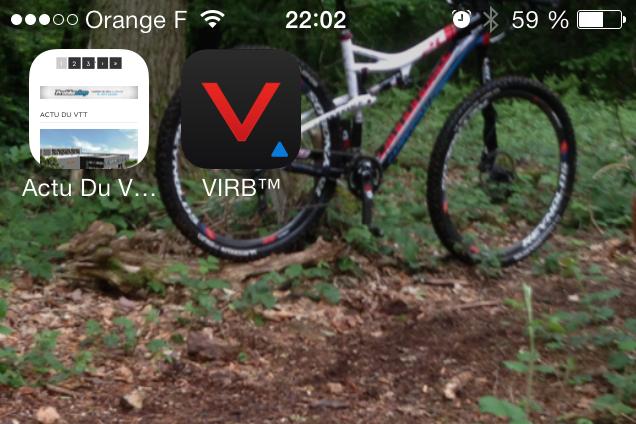 Piloter la Garmin VIRB Elite avec votre smartphone