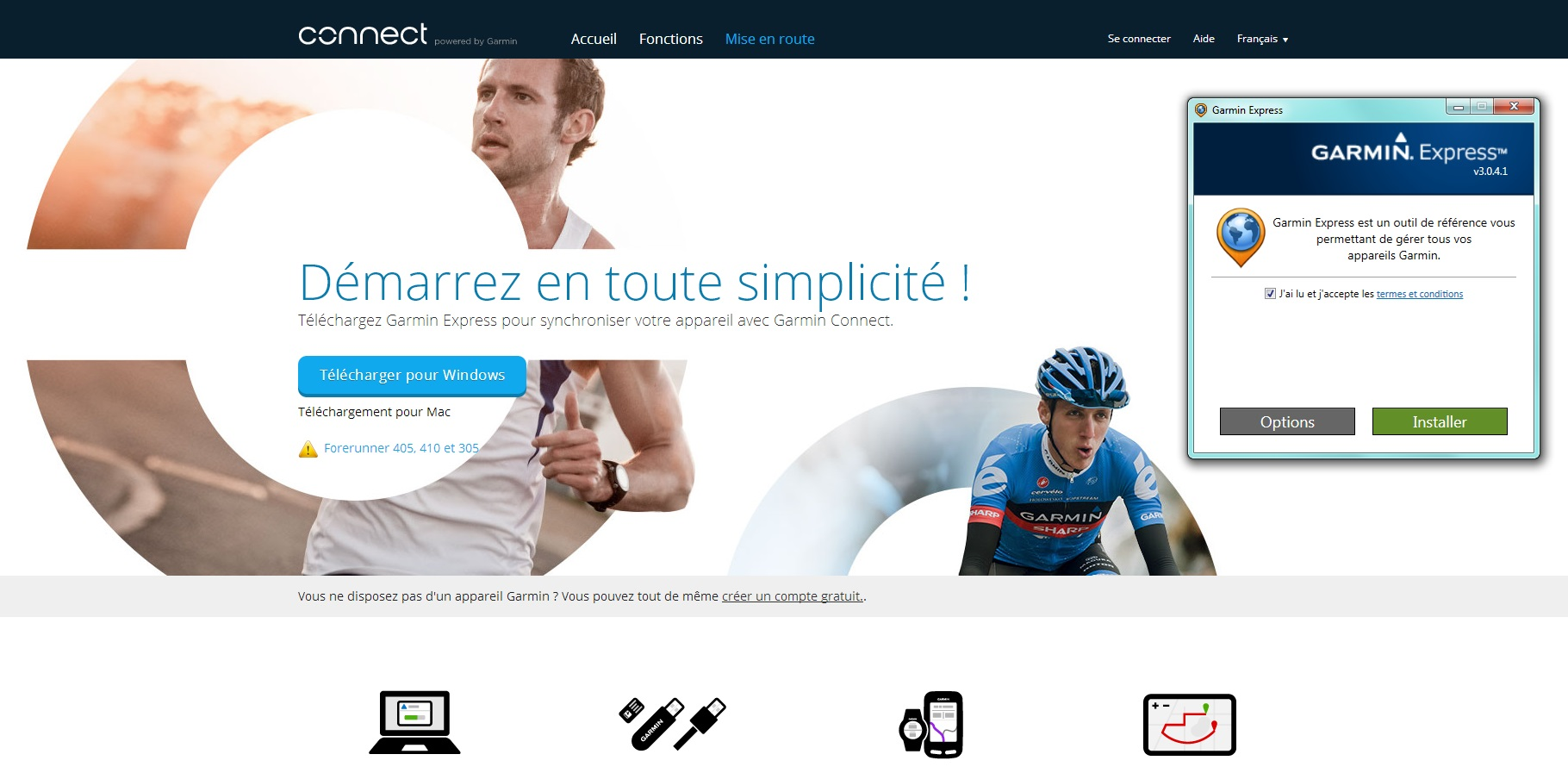 Garmin connect la révolution multi format