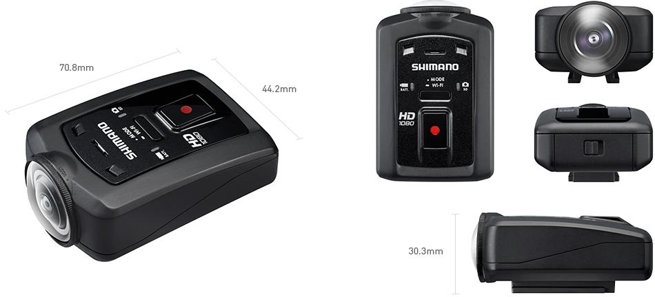 Shimano CM-1000 la nouvelle caméra embarquée