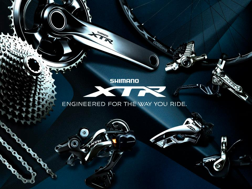 Shimano XTR – 11 vitesses en détail et en images