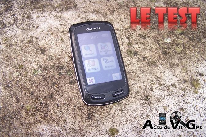 Garmin EDGE 800 – Présentation du GPS