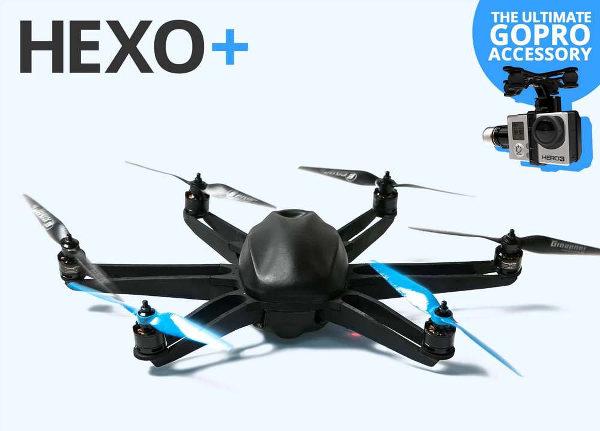 Hexo+, le drone qui vous suit …