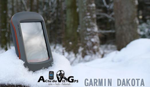 Test du Garmin Dakota 20