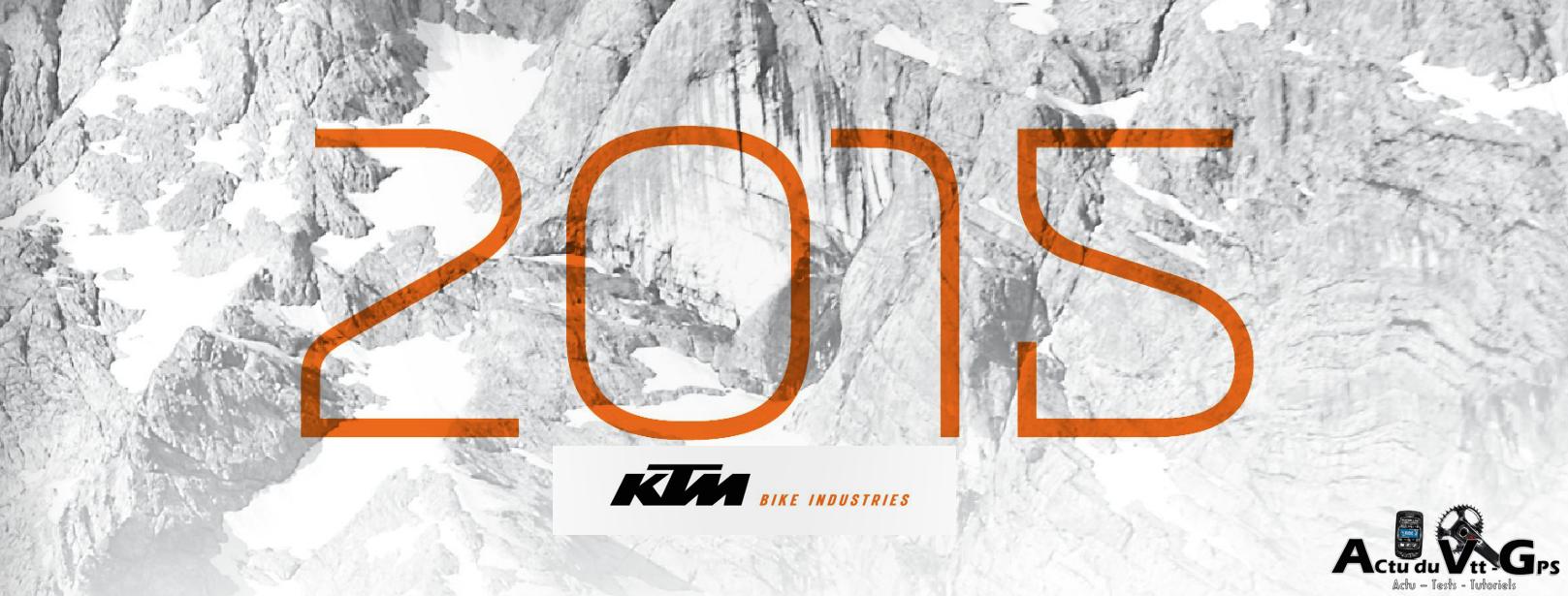 CATALOGUE KTM 2015