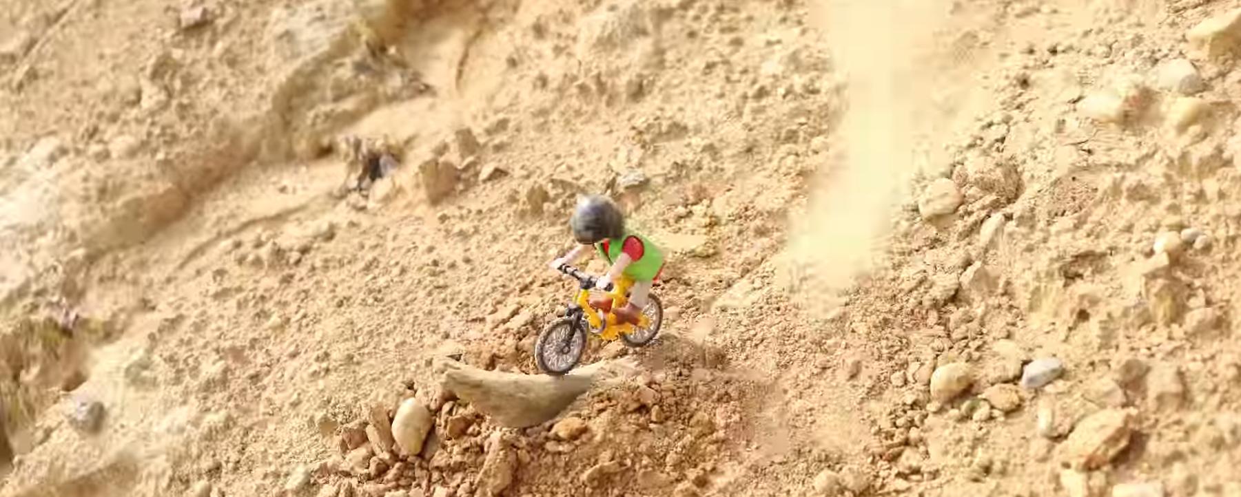 LE RETOUR DES Playmobil MTB EXTREME
