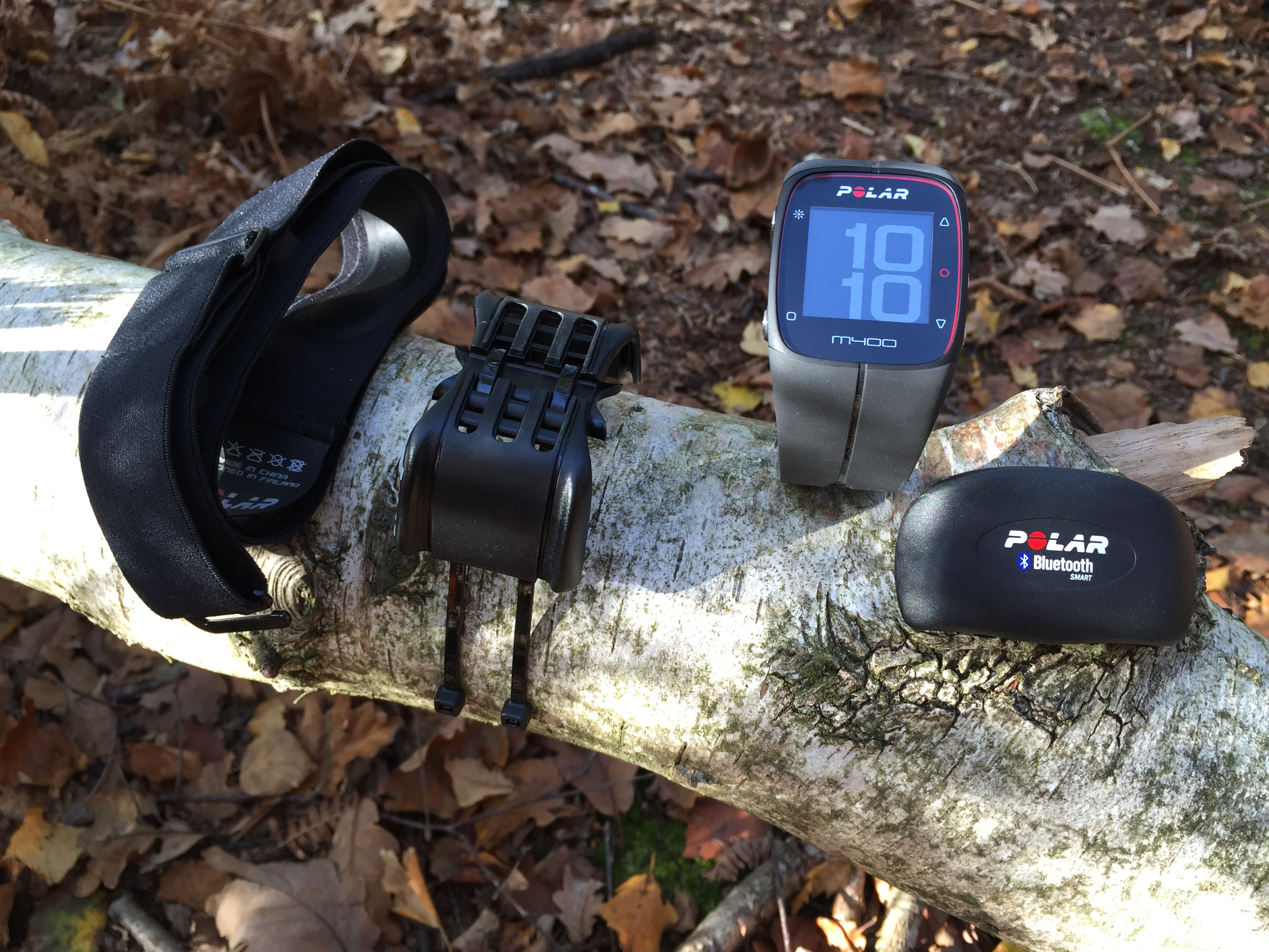 TEST DE LA MONTRE GPS POLAR M400