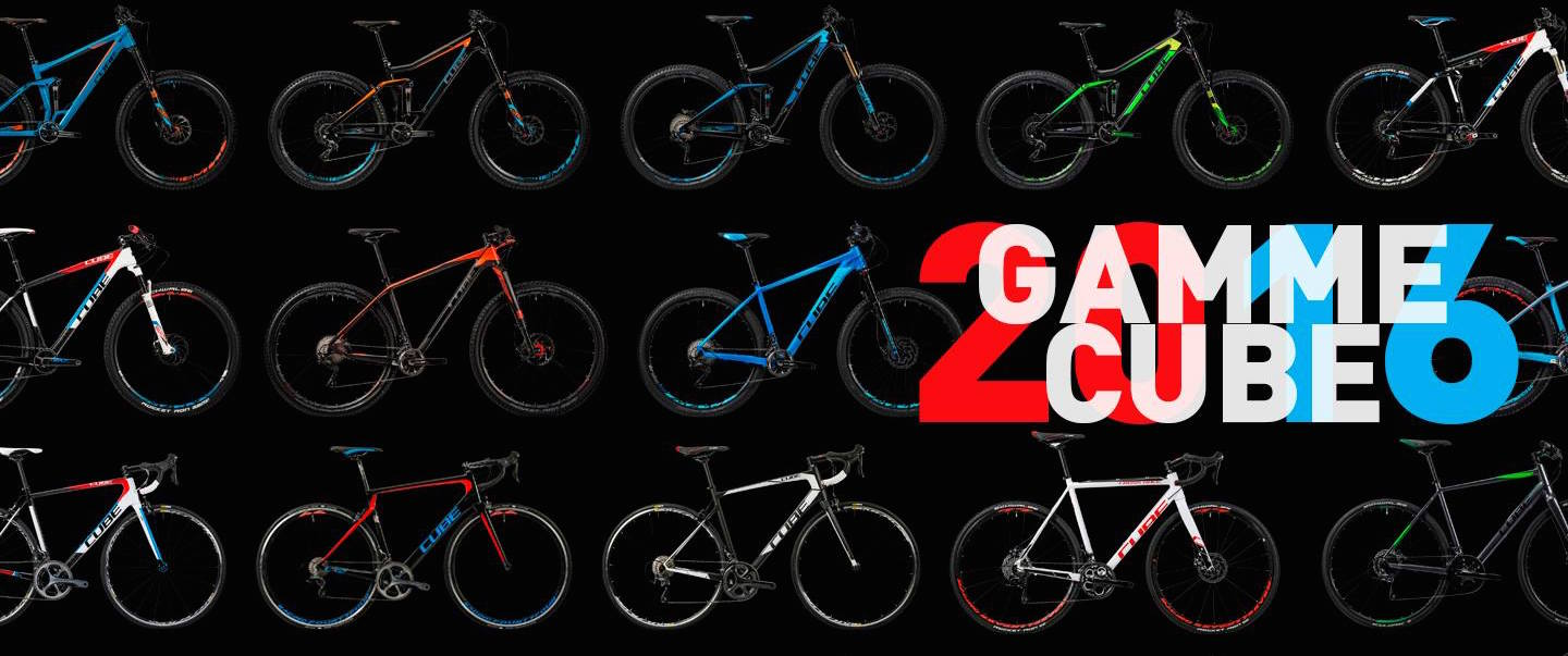 CATALOGUE CUBE 2016 MTB & E-BIKE