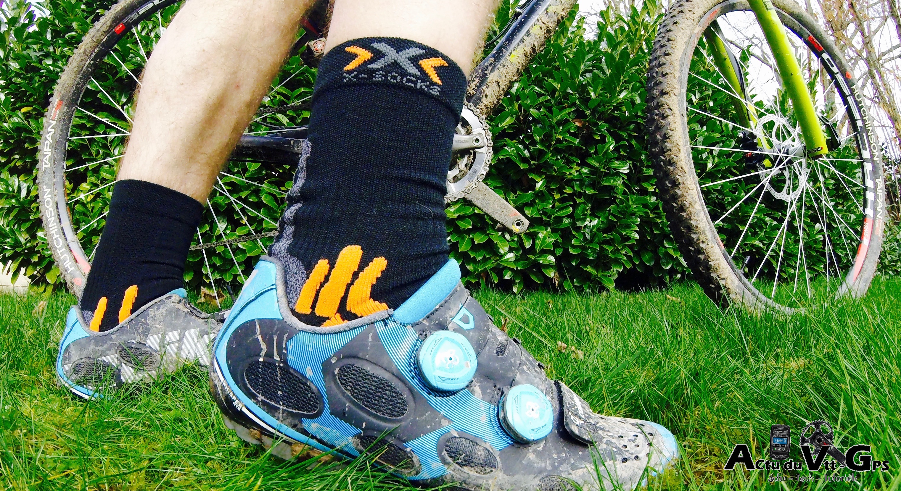 TEST DES CHAUSSETTES X-SOCKS WINTER BIKE