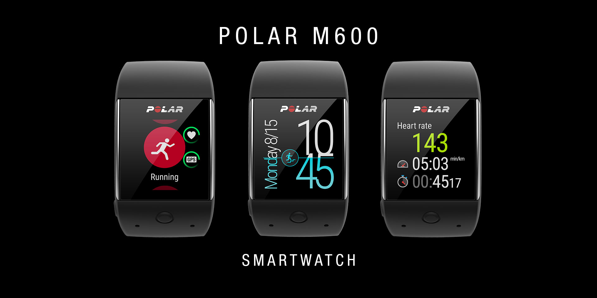 POLAR M600 – MONTRE SPORTIVE CONNECTEE