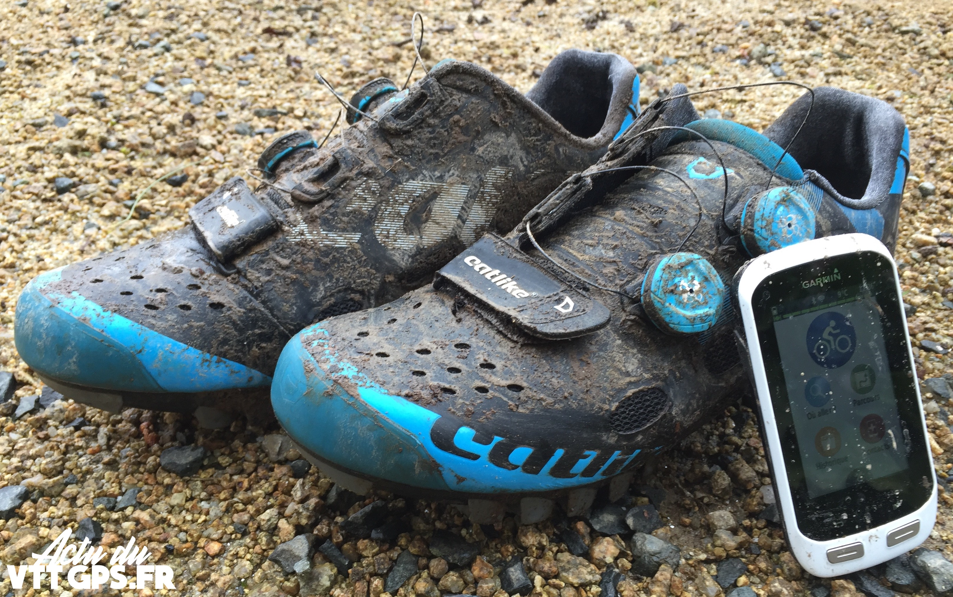 TEST LONGUE DUREE DES CHAUSSURES CATLIKE WHISPER MTB