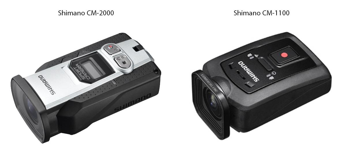 SHIMANO DEUX NOUVELLES CAMERAS CONNECTEES CM-2000 ET CM-1100