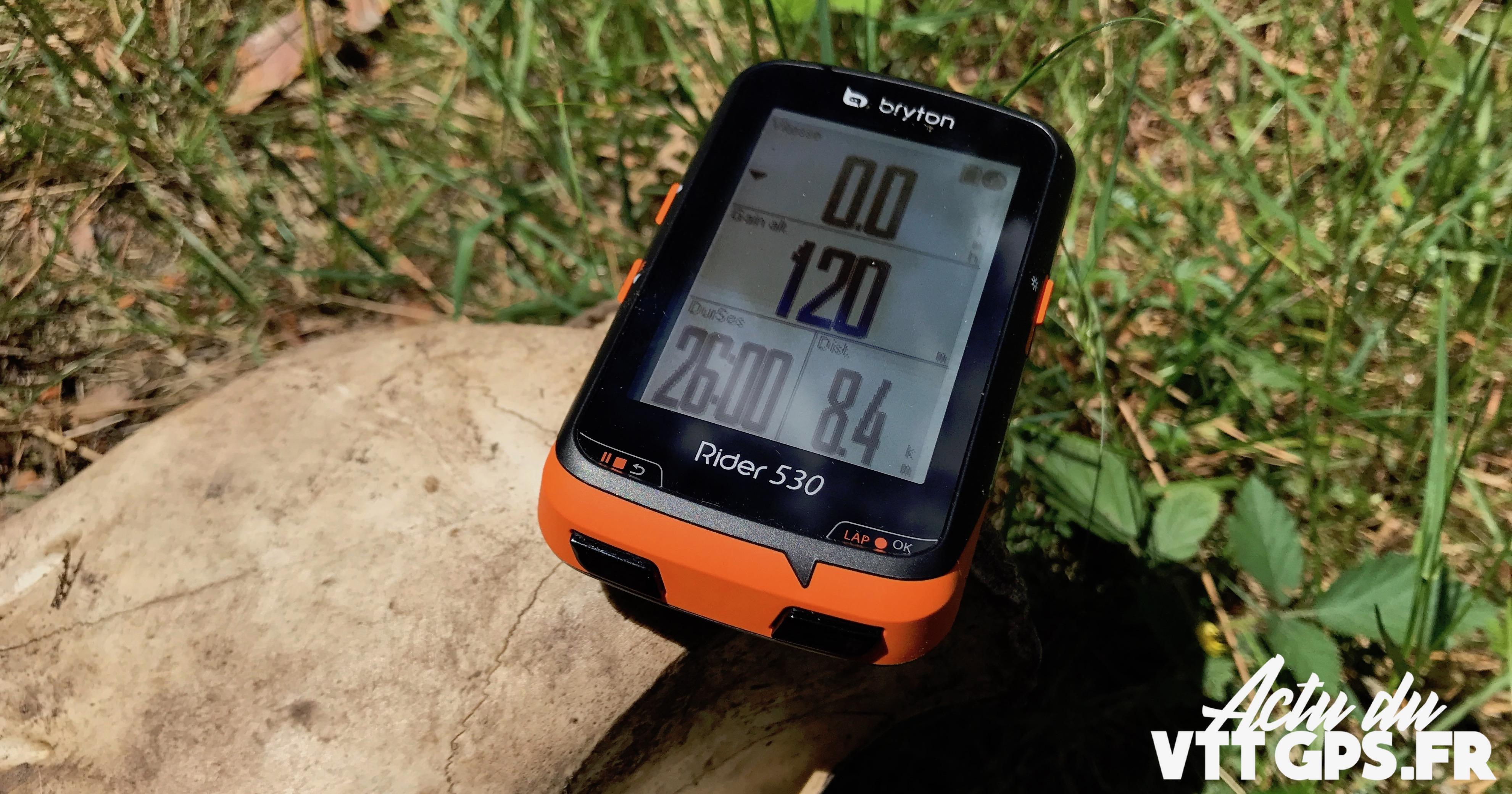 TEST DU COMPTEUR GPS BRYTON RIDER 530