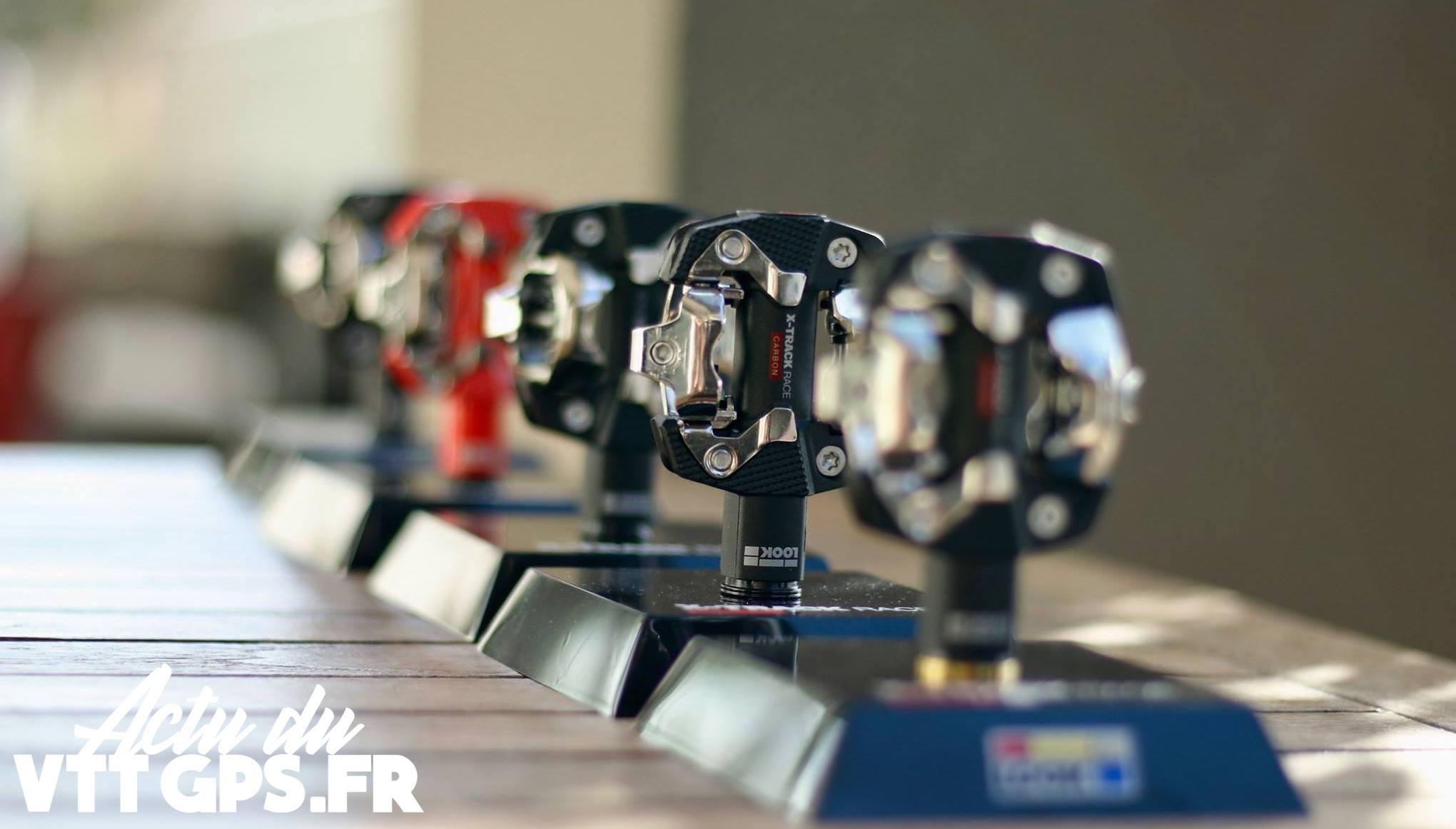 Look X-Track FR-Rage MTB Pédale avec Crampons