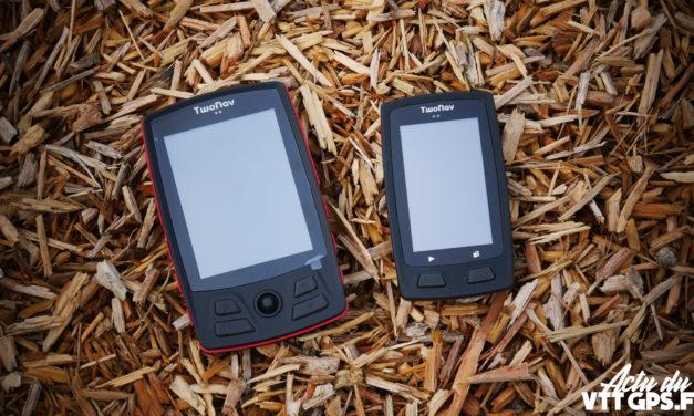 GPS – TWONAV VELO – HORIZON ET TRAIL PASSENT EN VERSION 4.3