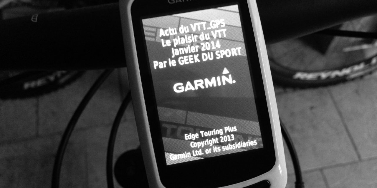 PERSONNALISER L'AFFICHAGE D'ACCUEIL DE SON GARMIN EGDE