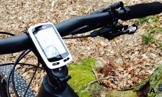 PARAMETER L AFFICHAGE SUR UN GPS GARMIN EDGE TOURING
