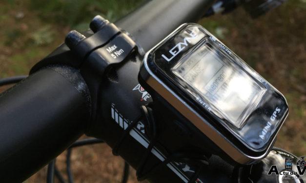 TEST DU COMPTEUR LEZYNE MINI GPS