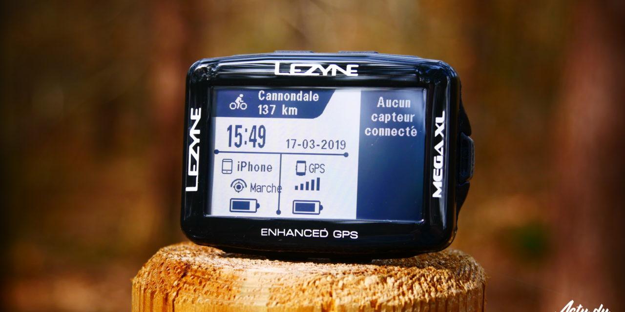 TEST GPS – LEZYNE MEGA XL – CARTOGRAPHIE ET GUIDAGE