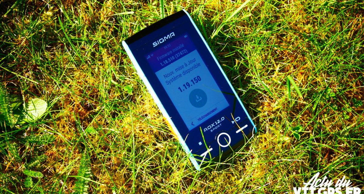 NOUVEAUTE – LE GPS SIGMA ROX 12 MONTE EN PUISSANCE