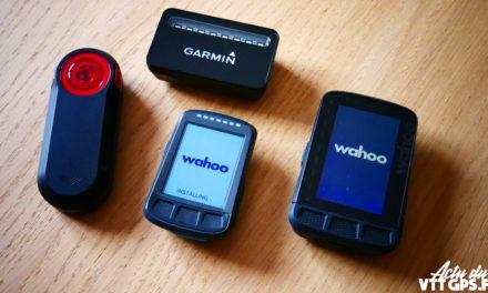 LES GPS WAHOO SONT COMPATIBLES AVEC LE GARMIN VARIA RADAR