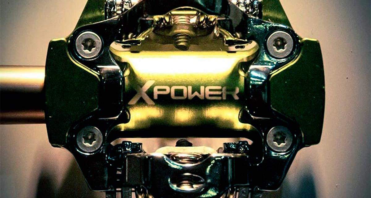 SRM X-POWER LES PREMIERES PÉDALES CAPTEUR DE PUISSANCE.