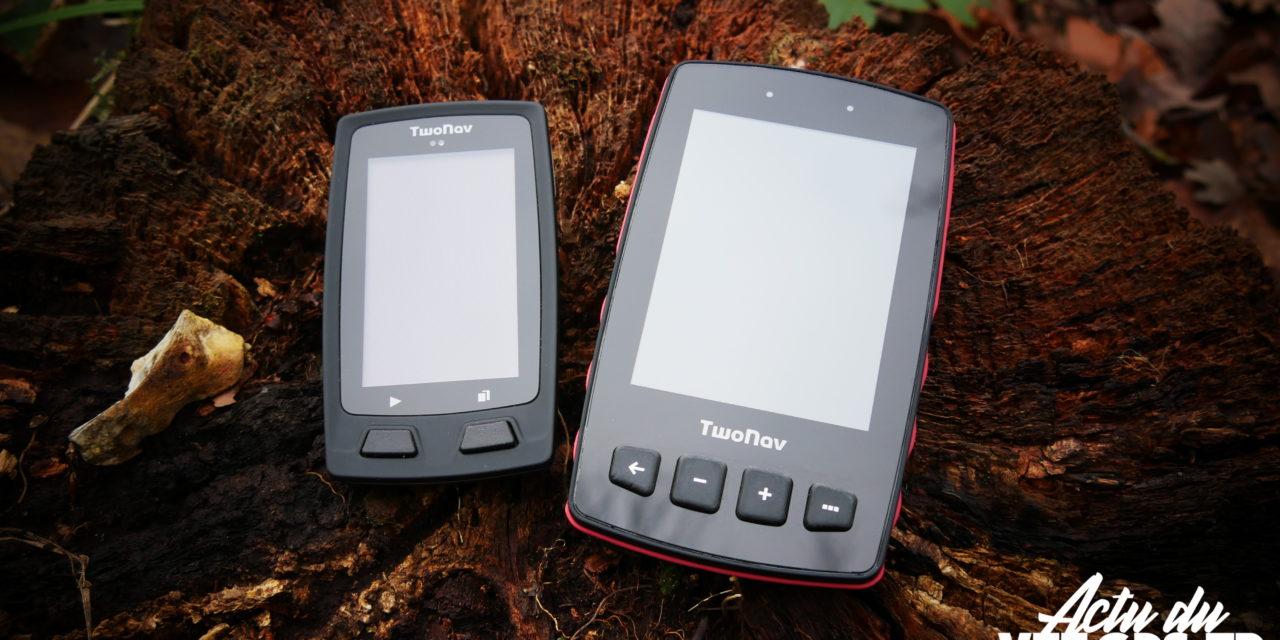 GPS TWONAV TRAIL ET VELO PASSE EN VERSION 4.7