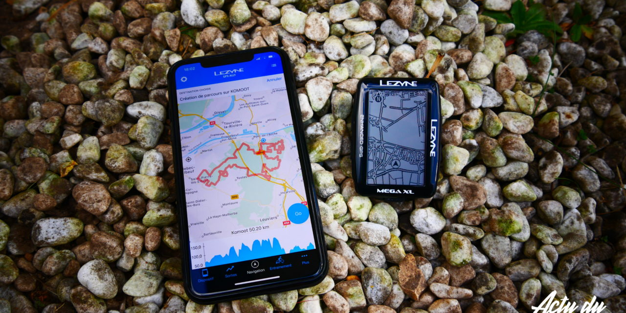 LEZYNE & KOMOOT – ENVOYER UN PARCOURS SIMPLEMENT DANS SON GPS