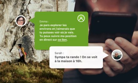 KOMOOT INTEGRE LE SUIVI EN LIVE DANS SON APPLICATION